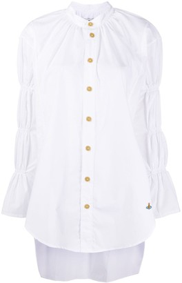 Vivienne Westwood Tiered Sleeve Organic Cotton Shirt