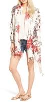 Hinge Women's Floral Print Wrap