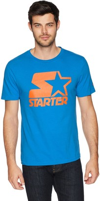 Starter Men's Short Sleeve Logo T-Shirt Amazon Exclusive