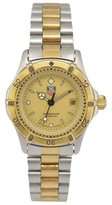 Tag Heuer 2000 964.008E Stainless Steel & Gold Plated 27mm Womens Watch