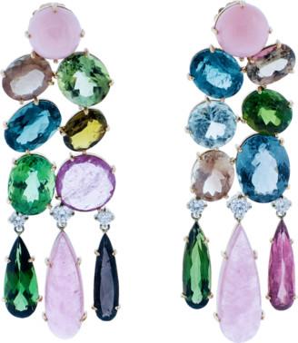 Irene Neuwirth Jewelry Chandelier Earrings