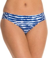 Kenneth Cole Electric Stripe Sash Tab Bikini Bottom 8123541