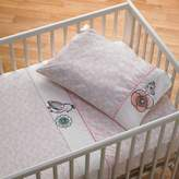 Living Textiles Sparrow 3-Piece Cot Sheet Set