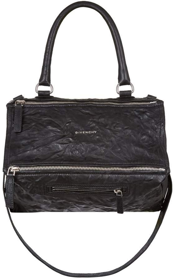Givenchy Medium Washed Leather Pandora Shoulder Bag