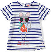 Joules Baby/Little Girls 12 Months-3T Pixie Striped Mouse Tee