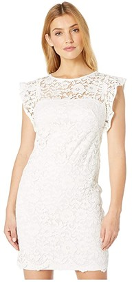 Lauren Ralph Lauren Afiya Dress (White) Women's Dress