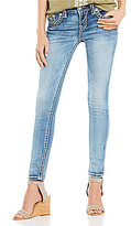 Miss Me Braided Flap Pocket Skinny Jeans