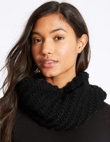Marks and Spencer Textured Snood Scarf