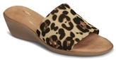 Aerosoles Badminton Leopard Wedge Sandal