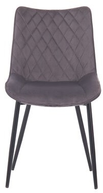 Penrod Tufted Upholstered Side Chair in Brown George Oliver Upholstery Color: Gray