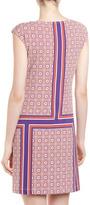 Donna Morgan Printed Sleeveless Shift Dress, Brown