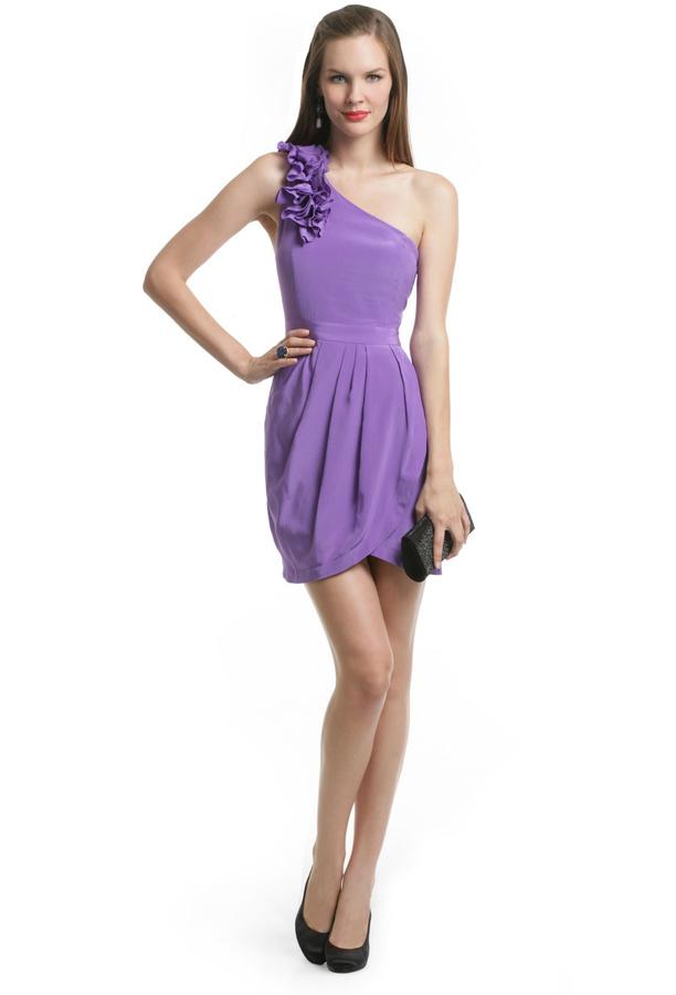 Yumi Kim Purple Rizzie Dress