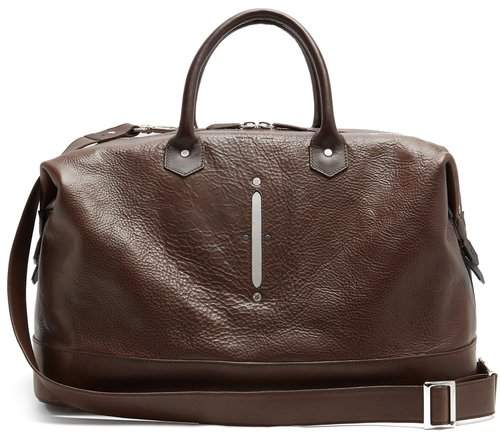 Lee Passavant And Scier Edition Weekender - Mens - Dark Brown
