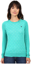 U.S. Polo Assn. Polka Dot Crew Neck Sweater