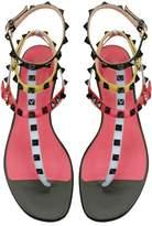 AIWEIYi Womens Rivets Roman Gladiator Sandals Flats Thongs