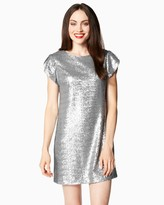 Charming charlie Party Sequin Shift Dress