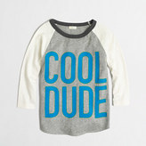 J.Crew Factory Factory boys' cool dude baseball storybook tee