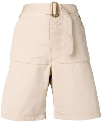 J.W.Anderson Fold front utility shorts