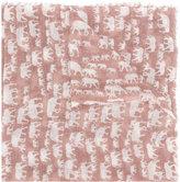 Hemisphere elephant pattern scarf