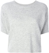 Isabel Marant crew neck knitted top - women - Cashmere - 40