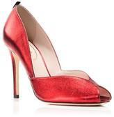 Sarah Jessica Parker Naomi Peep Toe Pumps - Bloomingdale's Exclusive