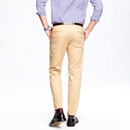 Ludlow slim suit pant in Italian chino