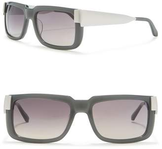 Linda Farrow 58mm Large Sqaure Sunglasses