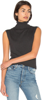 Bella Luxx Cashmere Blend Funnel Neck Tank