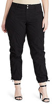Lauren Ralph Lauren Plus Cotton Cargo Pant