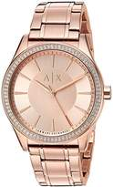 Armani Exchange Women's AX5442 Rose Gold Watch
