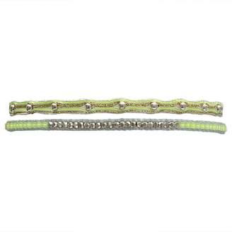 LeJu London Bracelet Set In Bright Colors And Sterling Silver Details