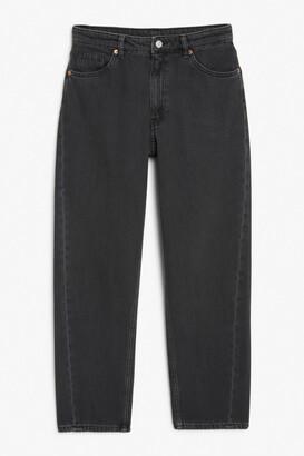 Monki Kyo washed black jeans