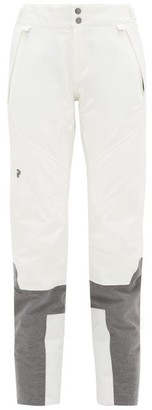 Peak Performance Valearo Bi-colour Ski Trousers - White