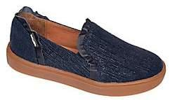 Venettini Girl's Slip-On Ruffle Sneakers