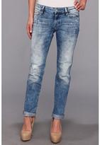 Mavi Jeans Emma Slim Boyfriend in Painted Artist Vintage