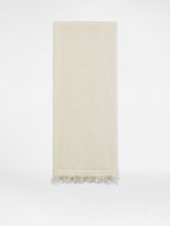 DKNY Cashmere Scarf With Fringe