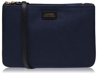 Lauren by Ralph Lauren Chadwick Double Zip Cross Body Bag