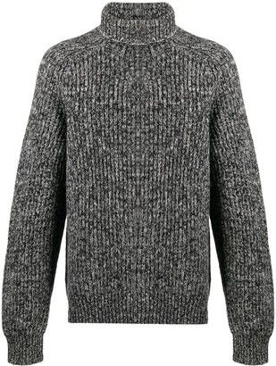 Acne Studios Ribbed Roll Neck Jumper