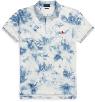 Ralph Lauren Indigo Tie-Dye Polo Shirt