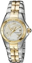 Technomarine Women's 'Cruise Dream' Swiss Quartz Stainless Steel Casual Watch, Color:Two Tone (Model: TM-115204)