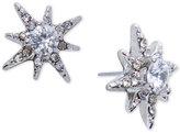 Lauren Ralph Lauren Silver-Tone Crystal and Pavé Star Stud Earrings