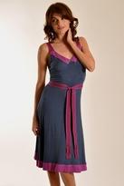 Plenty by Tracy Reese Banded Slip Dress In Indigo