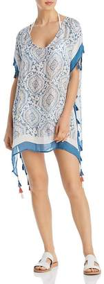 Surf.Gypsy Candy Vintage Baroque Print Swim Cover-Up