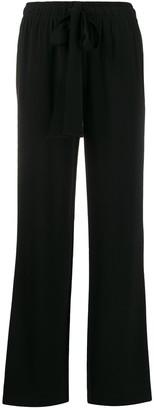 Dvf Diane Von Furstenberg Drawstring Wide-Leg Trousers