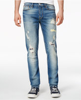 GUESS Men's Slim-Fit Stretch Destroyed Jeans