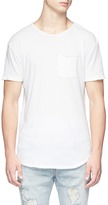 R 13 Patch pocket slub T-shirt