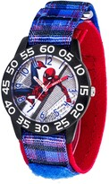 Thumbnail for your product : EWatchFactory Marvel Spider-Man Boys' Black Plastic Watch 32mm