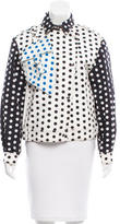 J.W.Anderson Polka Dot Denim Jacket