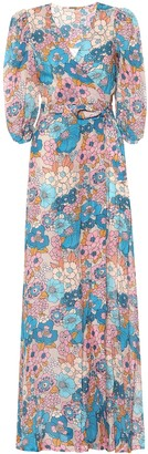 Dodo Bar Or Floral cotton maxi dress