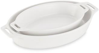 Staub Ceramic 2-Piece Oval Baking Dish Set